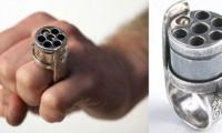 Кольцо револьвер