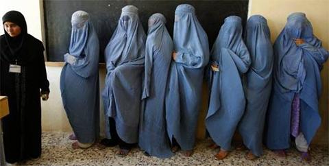 талибан женщины