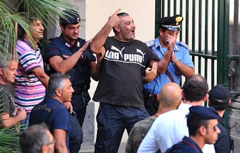 Операция по задержанию главарей Каморры