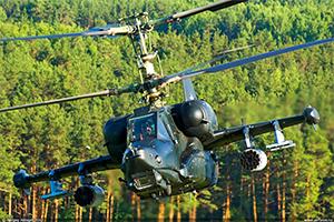 Вертолет Черная Акула