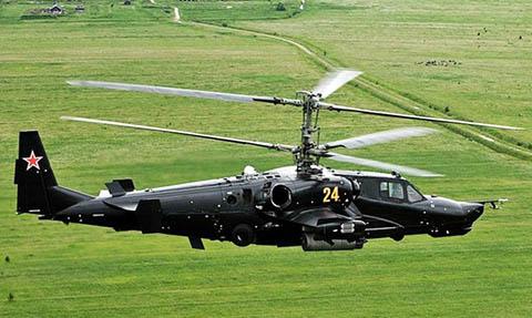Вертолет черная акула (КА-50)