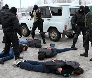 СОБР задержание банды
