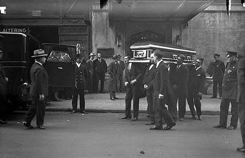 Похороны Арнольда Ротштейна