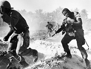 Американцы во Вьетнаме использовали оружие Узи Галя