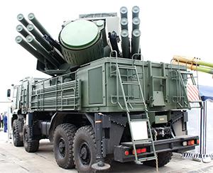 Зенитно-ракетный комплекс панцирь