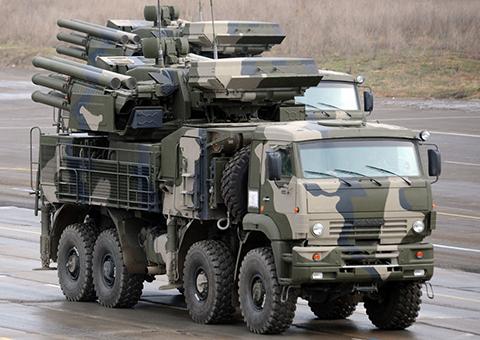 Зенитно-ракетный комплекс «Панцирь-С1»