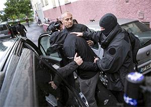 Задержана крупная группировка воров