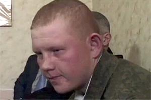 механик-водитель танка 18-летний Валерий Пермяков из Читы
