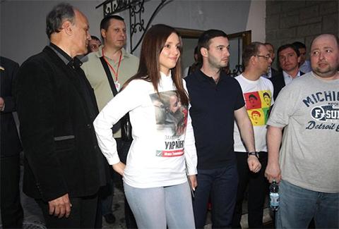 Евгения Тимошенко и Артур Чечеткин