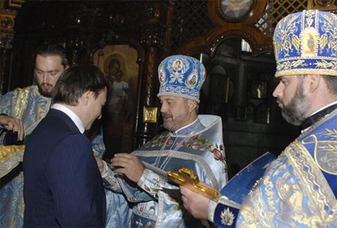 Теперь Вадим Кисель стал полным кавалером Ордена святого князя Владимира Русской Православной Церкви