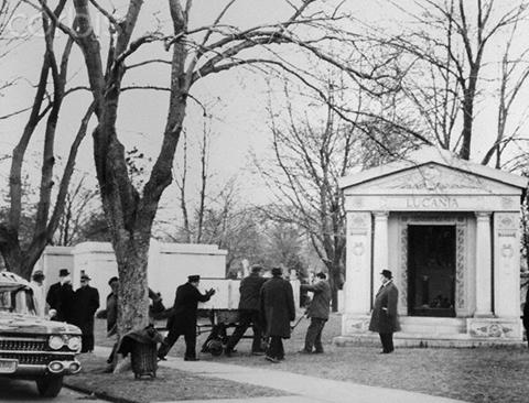 Склеп, где похоронен Лаки Лучано