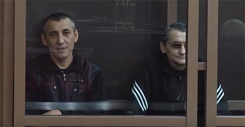 """Участники банды """"Центровские"""" на суде"""