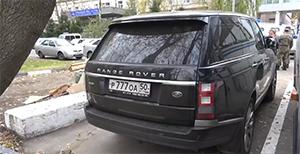 Автомобиль «красногорского стрелка», обнаруженный полицией.