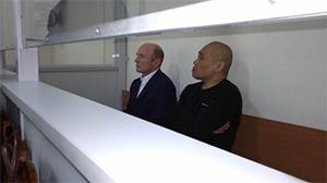 Вор в законе Бондо Стуруа и авторитет Андрей Ли на скамье подсудимых