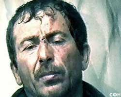 """Салаудин Тимирбулатов, он же """"Тракторист"""" во время задержания"""