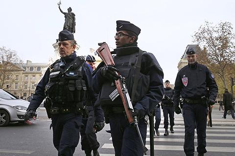 Серия террактов во Франции