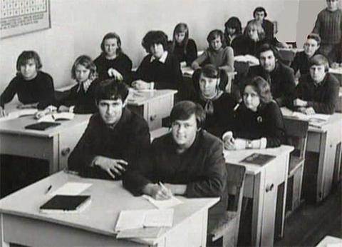Сергей Головкин с однокашниками