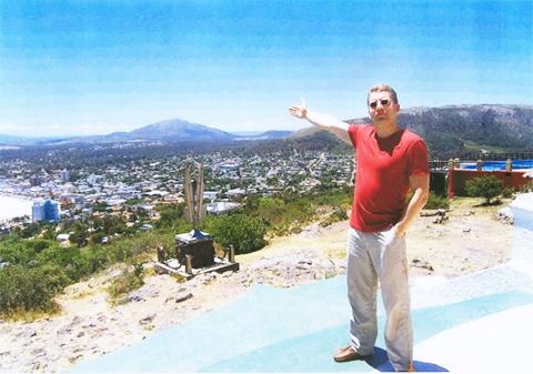 Денис Шилин в Уругвае