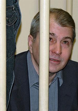 Владимир Ганеев на суде