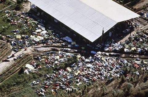 """Жертвы """"Народного Храма"""", совершившие массовое самоубийство фото"""