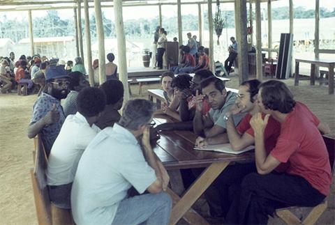 """В павильоне """"Народного Храма"""" в Гайане фото"""