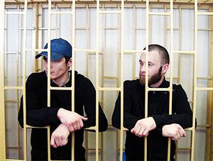 Слева: Максим Криллов, Александр Ковтун