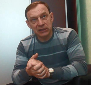 Борис Тимониченко в 2012 году во время работы в Свердловскавтодоре