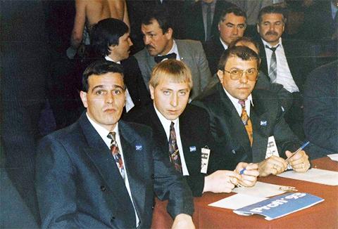 Криминальные авторитеты Саратова слева направо: Якорь, Чикунов, Наволокин