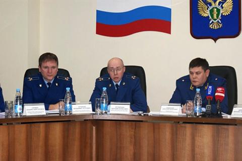 Справа: Кондратьева А.Ф, в центре: Ботвинкин Е.Б.