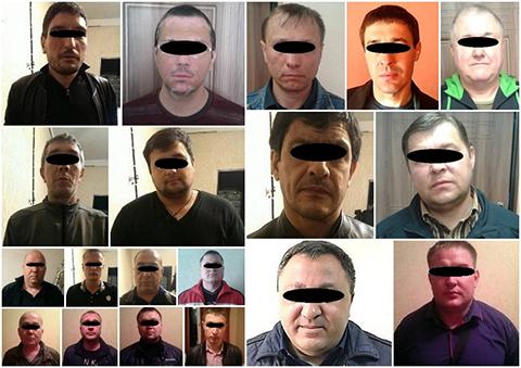 Задержанные блатные 29 апреля