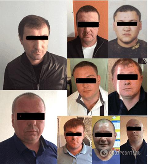 Задержанные на сходке 10 мая