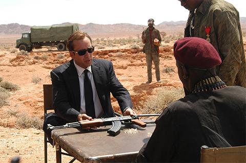 """Кадр из фильма """"Оружейный Барон"""" из-за которого американцы решили, что Бут является прототипом главного героя"""