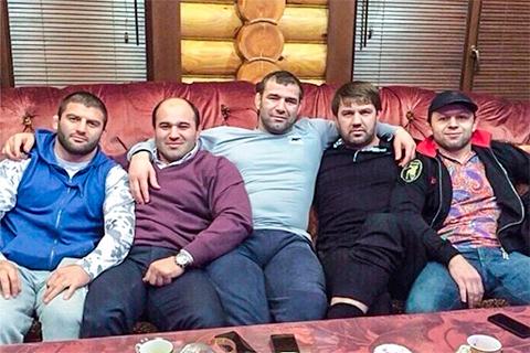 Сагид Муртазалиев с братвой