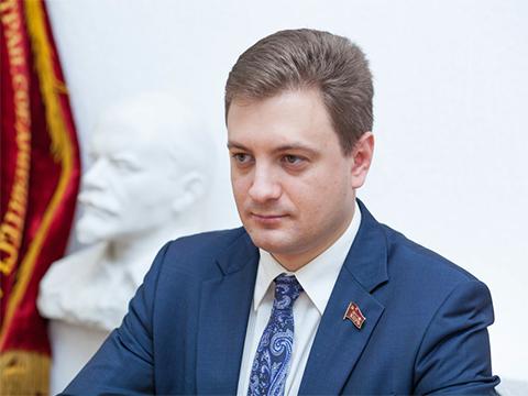 Первый секретарь обкома КПРФ, депутат Законодательного собрания Пензенской области Георгий Камнев