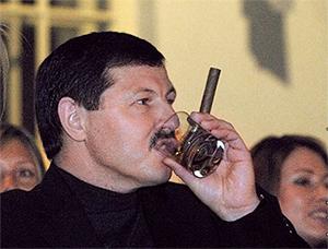 """Владимир Барсуков (Кумарин). Ну чем не """"крестный отец"""""""