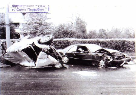 Расстрел машины Кумарина в 1994 году