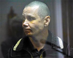 Криминальный авторитет Игорь Осинцев в зале суда