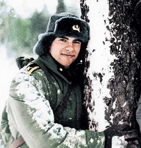 Алексей Шерстобитов в армейскую бытность