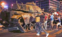 Как происходил государственный переворот в Турции
