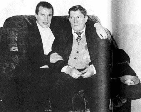 Слева: воры в законе Олег Шишканов - Раменский и Владимир Баркалов - Блондин