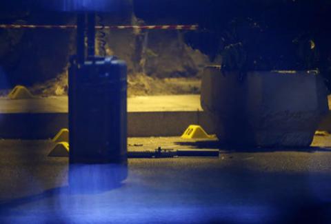 Фото с места убийства Ровшана Джаниева