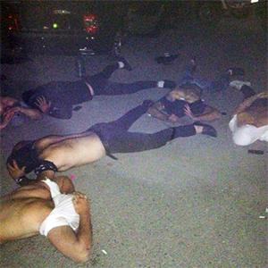 Задержание участников сходки в Нижнем Тагиле