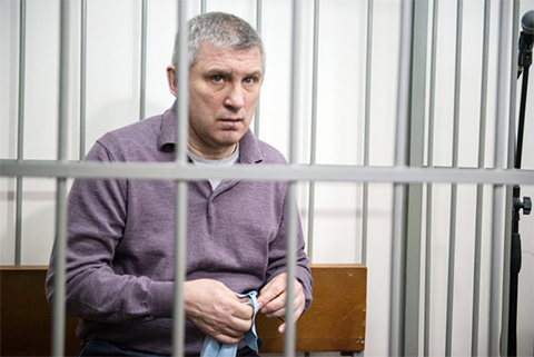 Александр Никитин в суде