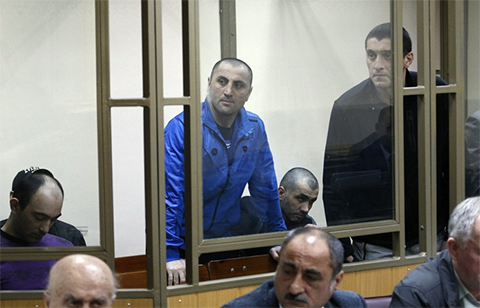 Члены банды Гагиева на суде