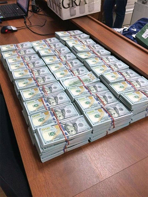 Деньги полковника Захарченко