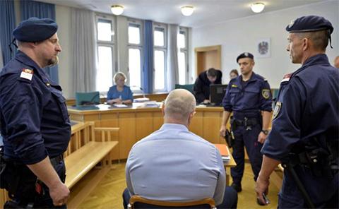Аслан Гагиев в суде Австрии