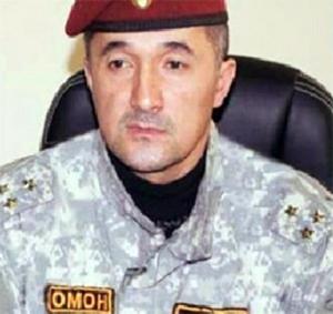 Гулмурод Халимов в бытность командира ОМОНа