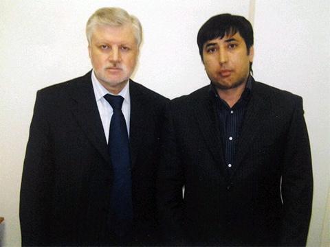 Сергей Миронов и Батыр Бекмурадов