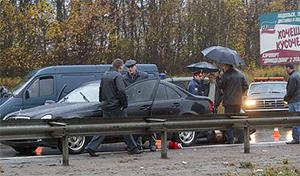 На месте расстрела Александра Слесарева