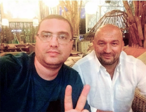 Ренато Усатый и Григорий Карамалак